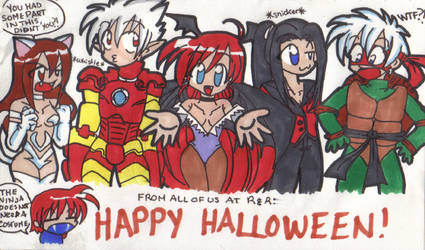 R and R Halloween by LitheCosplay