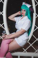 Nurse Morrigan - Katsucon 2015 by LitheCosplay