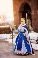 Authuria Pendragon Saber - March Shoot 3 by LitheCosplay