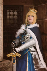 Arthuria Pendragon Saber - March Shoot 4 by LitheCosplay