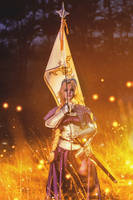 Jeanne D'arc - Colossalcon East 2 by LitheCosplay