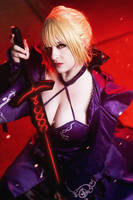 Alter Saber - Colossalcon East 2 by LitheCosplay