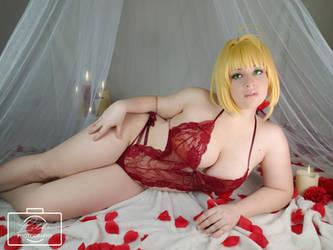 Nero Valentine Boudoir 4 by LitheCosplay