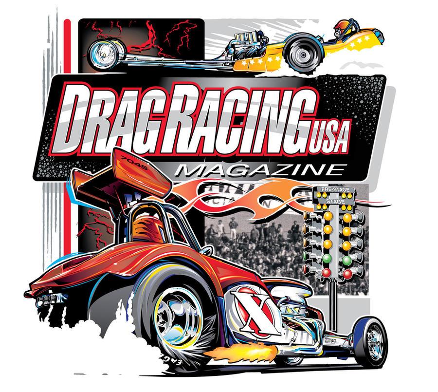 Drag Racing Magazine by darquem
