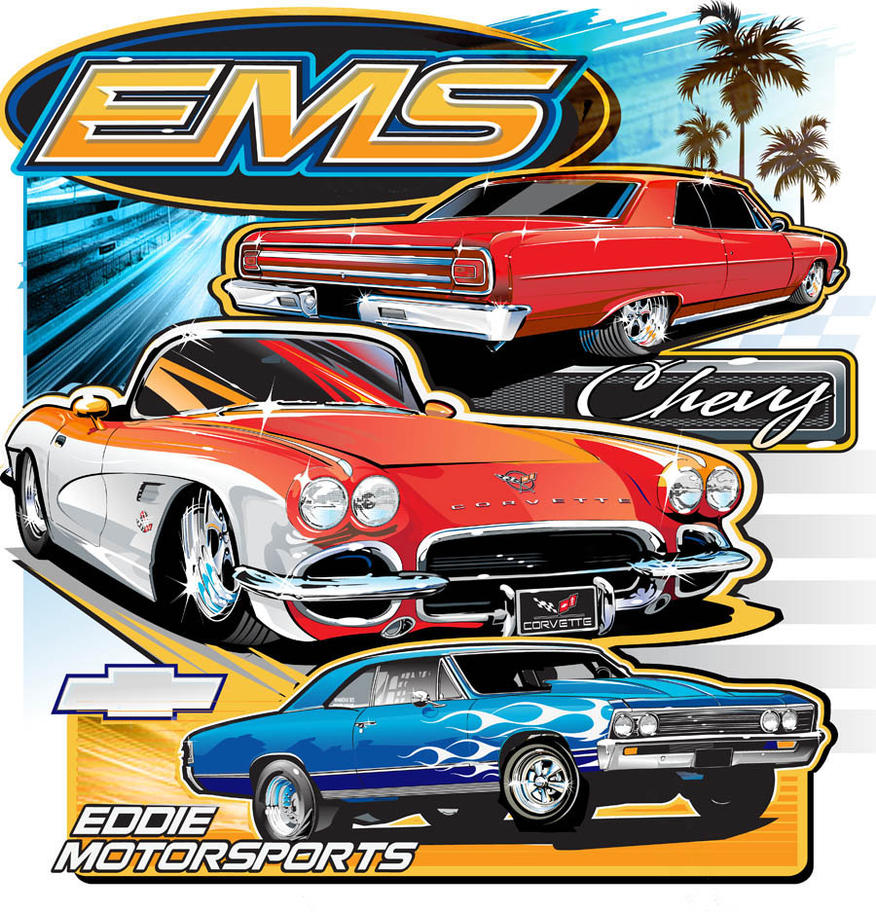chevy ems t shirt by darquem on deviantart