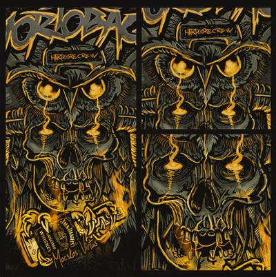 HHCC-Owl-NewHardcore Skull Vol 2 by OmaszDesign
