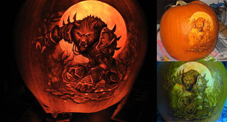 Warcraft pumpkin 2009