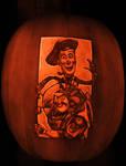 Toy Story3 pumpkin 2010