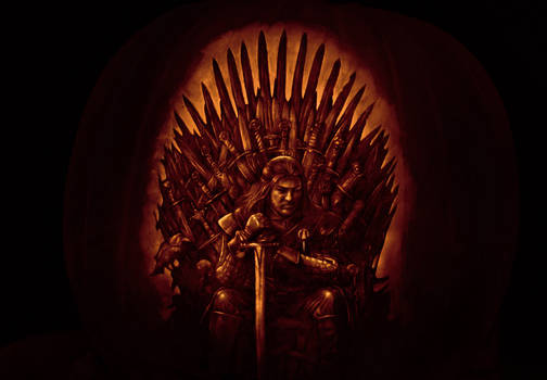 Game of Thrones pumpkin 2011