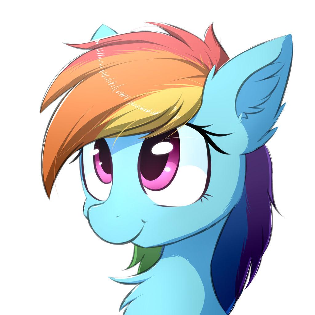 Rainbow Dash by MorningBullet