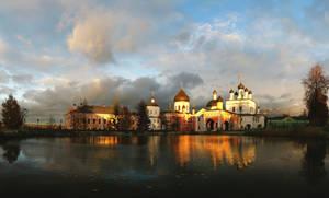 the evening monastery