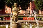 Fountain. Sculpture.