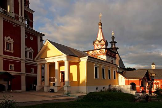 Monastery evening