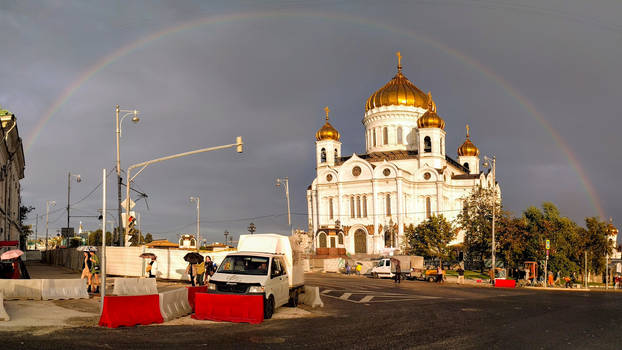Moscow after the rain