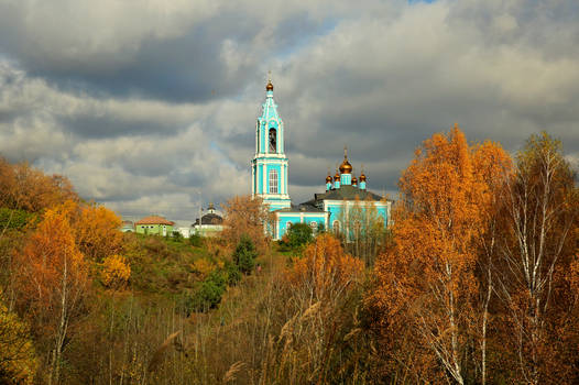 Moscow suburbs. Autumn. Church