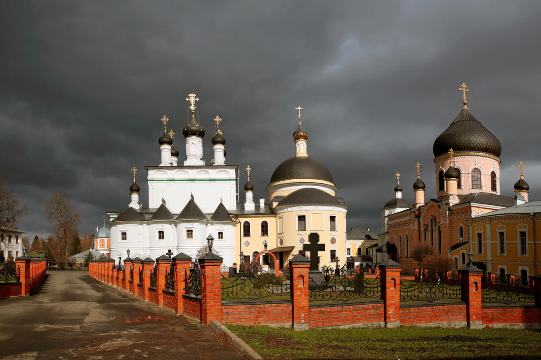 Monastery St.David by Nickdan