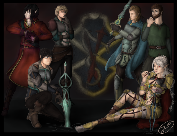 ~ All main Characters of Eurythria ~ by MySweetRambo