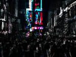 Night At Times Square