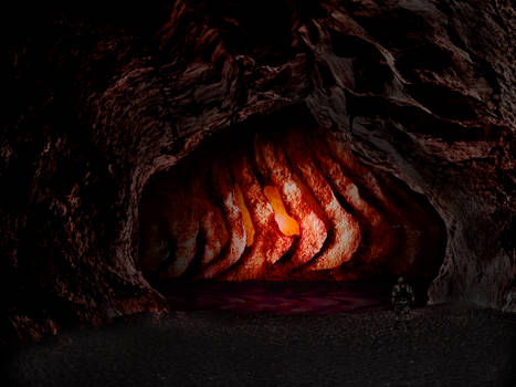 Alone In The Creepy Cave