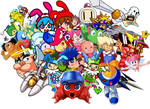 Parodius Rebirth Playable Characters (UPDATED)