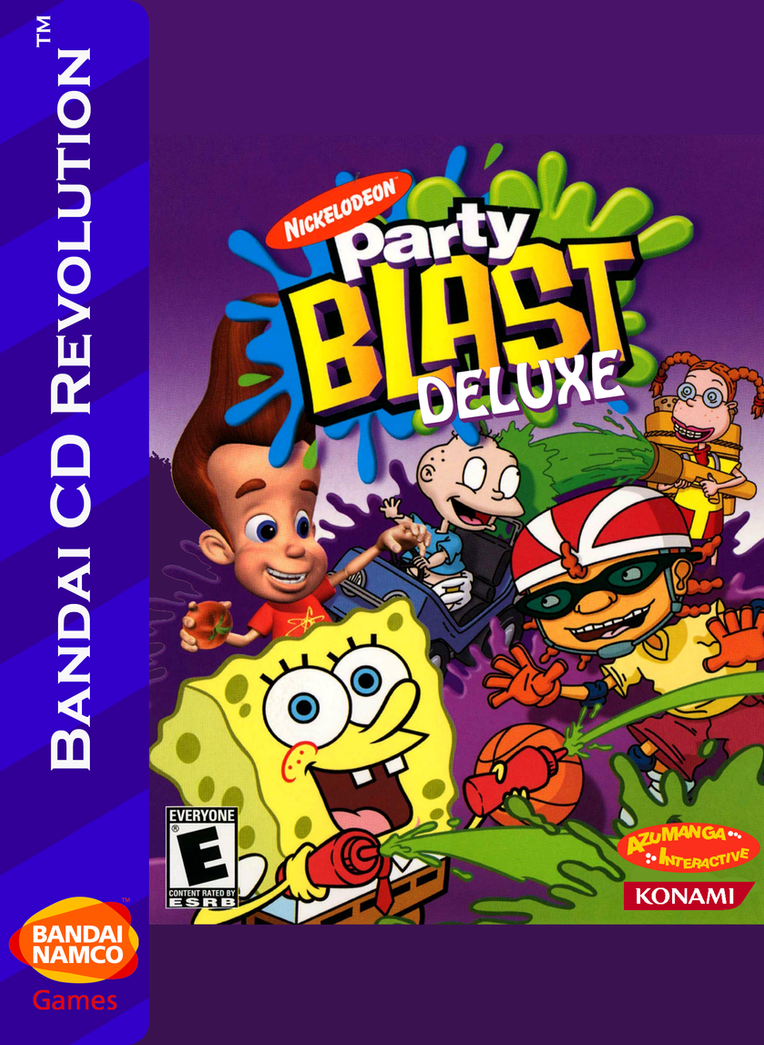 Nick Party Blast Deluxe Box Art for BCDR by MamonStar761