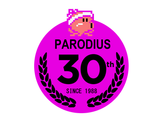 Parodius Anniversary logo by MamonStar761