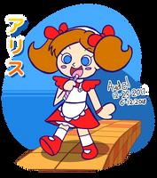 Marchen Maze - Alice [Pop'n Art Jam June] by MamonStar761