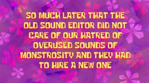 SFX Wiki in a nutshell 23 - Spongebob Time Card