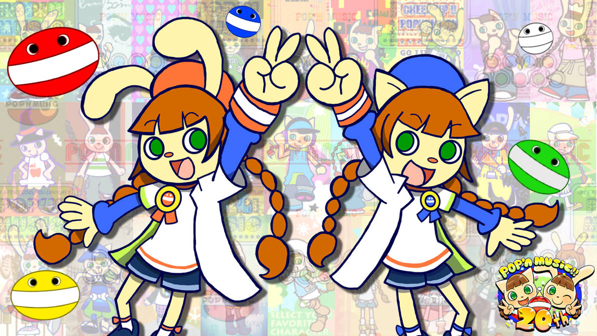 Mimi and Nyami 20th Anniversary v2 [Pop'n Music] by