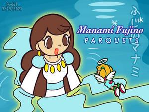 [Pop'n] Manami Fujino as a Ocean Goddess