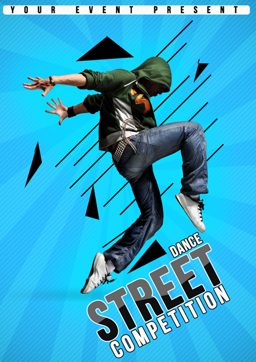 Flyer Street Dance Competition 4 By Josephmtm
