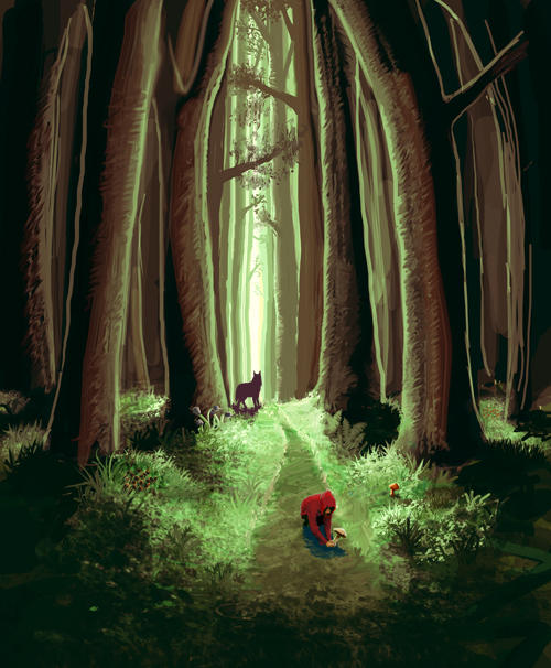 Little Red Riding Hood by OSW
