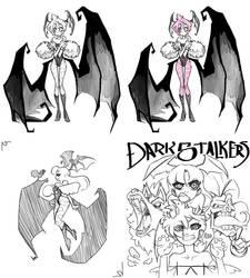 DarkStalkers Sketches