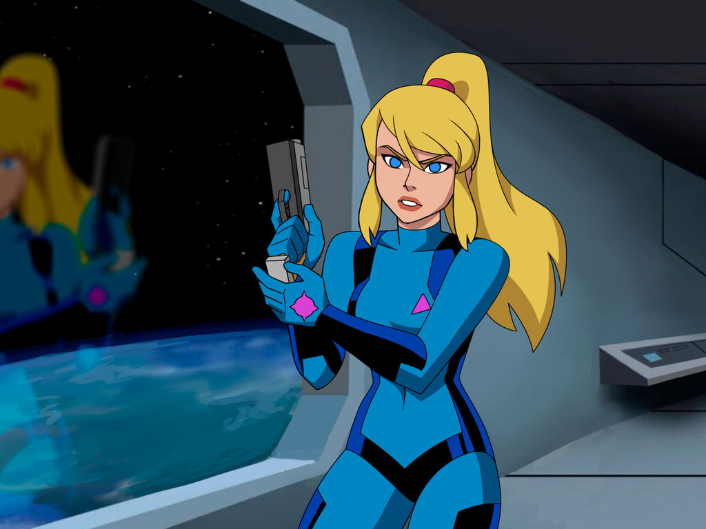 Samus in the DC Animated Universe 2