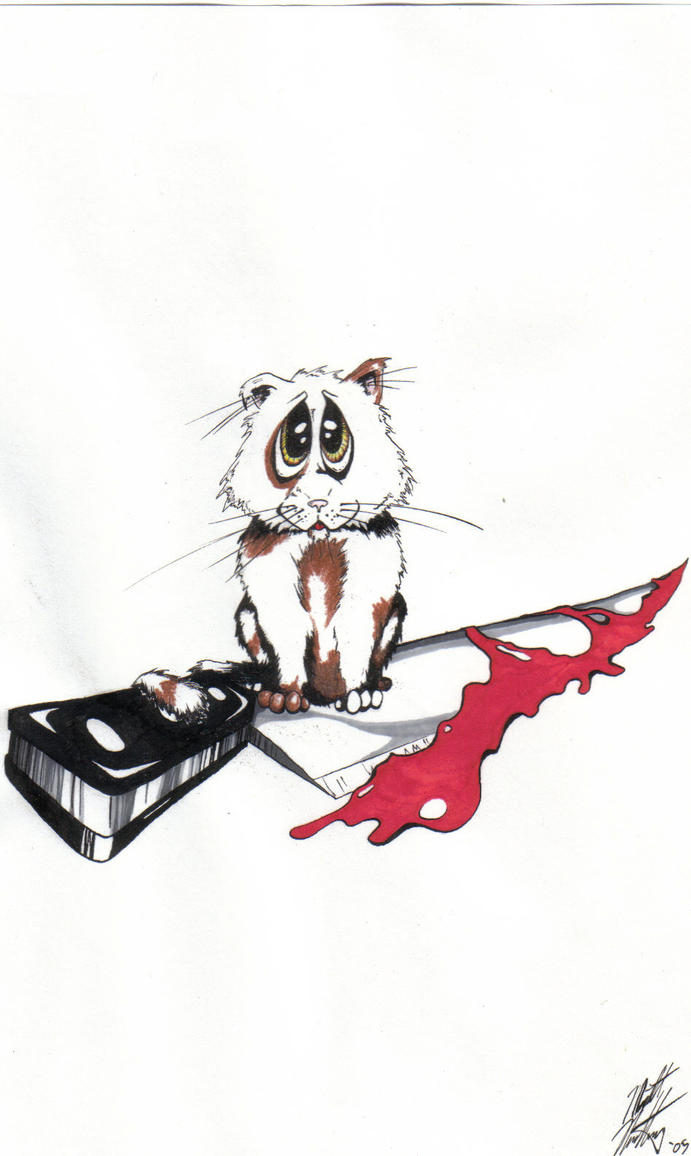 Kitty with a Knife by Northrup
