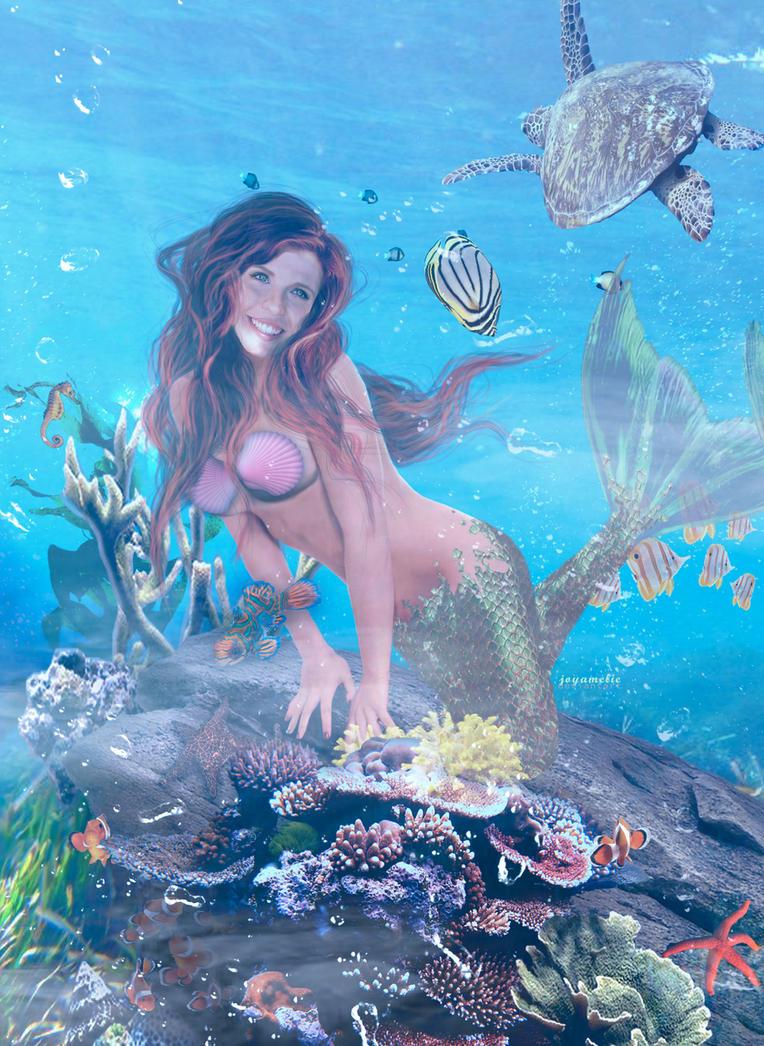 Ariel, the Little Mermaid by joyamelie