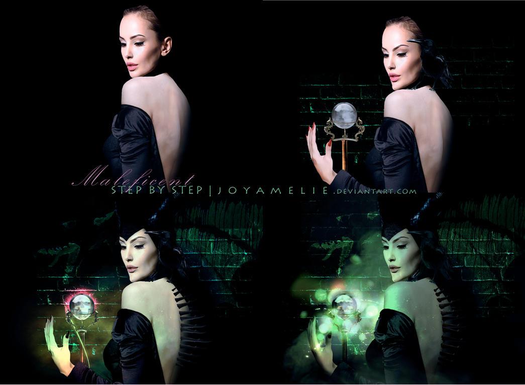Maleficent - STEP BY STEP by joyamelie