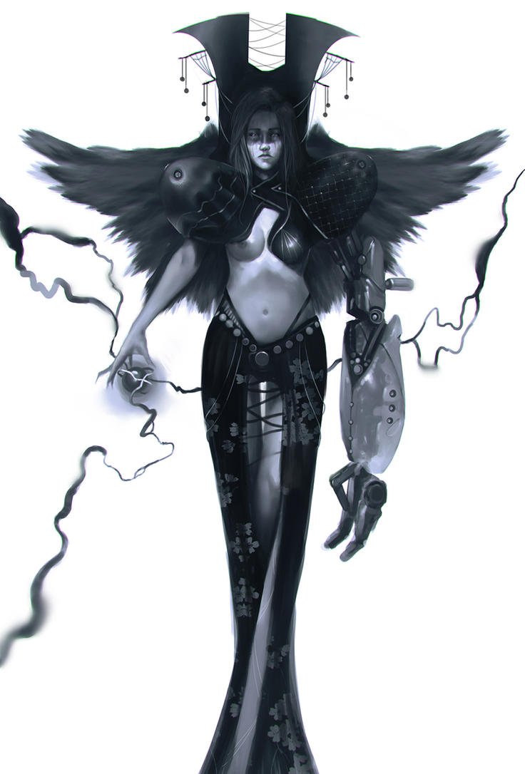 Angel of doom by Eaworks