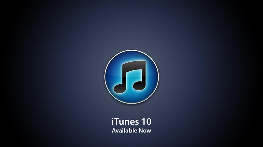 Apple iTunes 10 Wallpaper by JoeBob1099