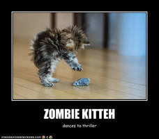 Zombie Kitteh by sharpshadow9545
