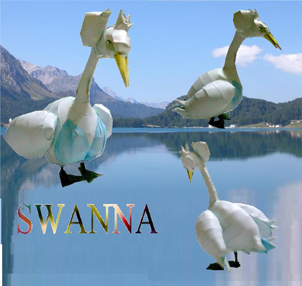 Swanna by javierini