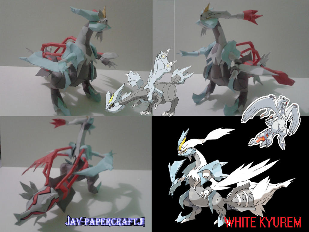 White Kyurem by javierini