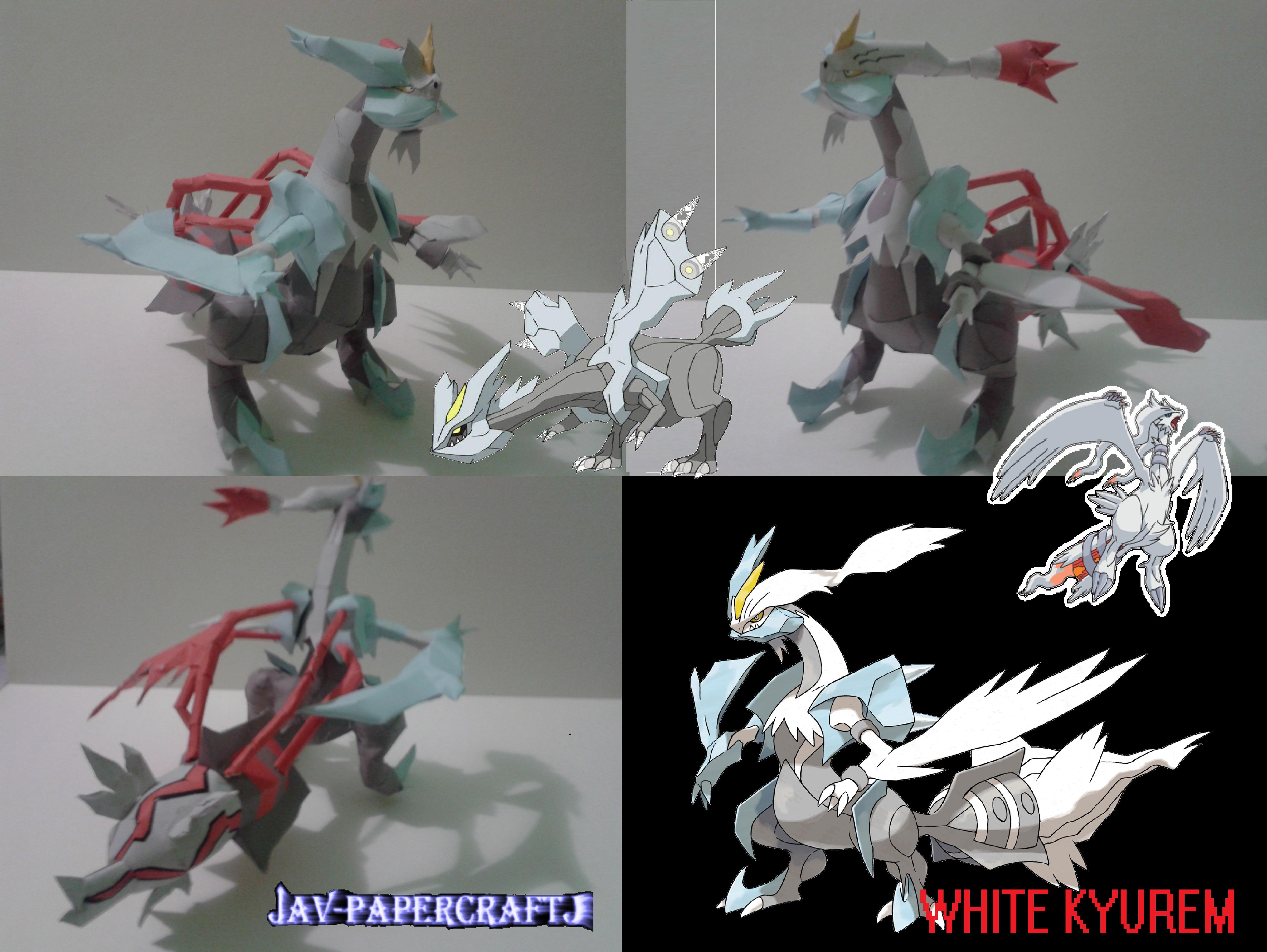 White Kyurem by javierini
