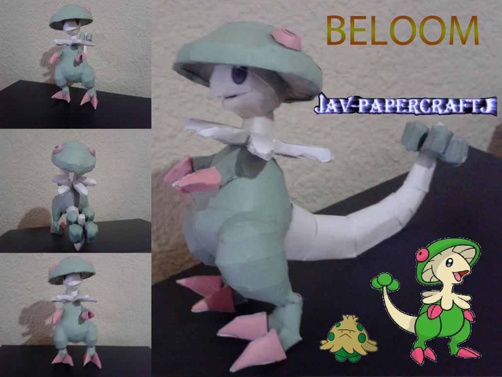 Breloom by javierini
