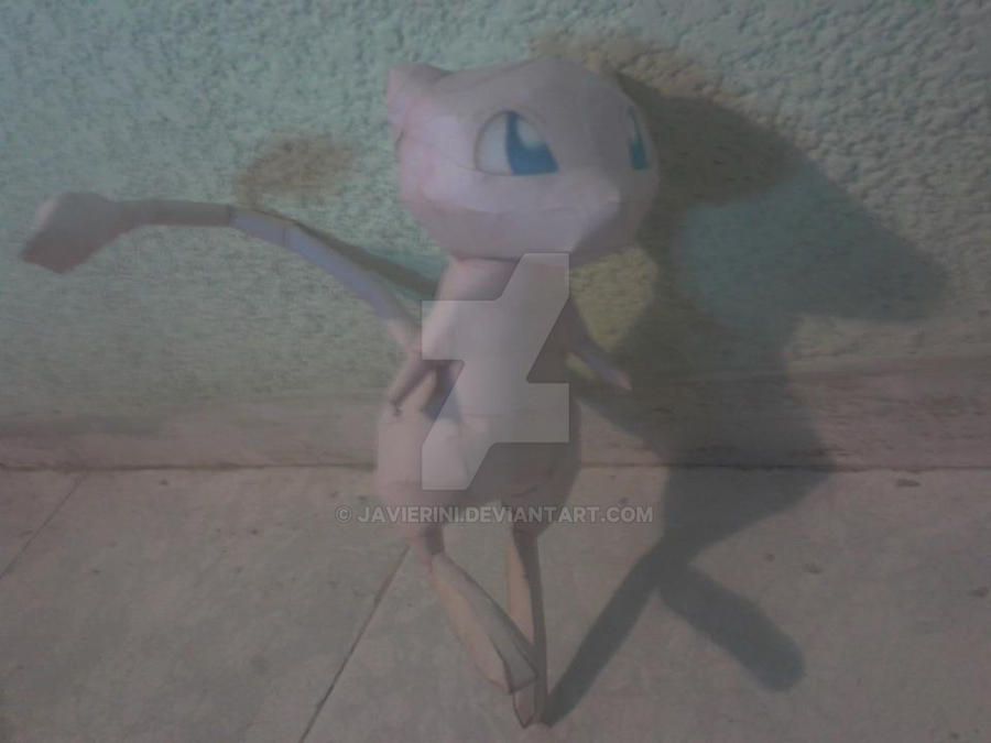 Mew Papercraft by javierini