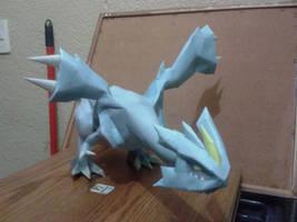 kyurem papercraft by javierini