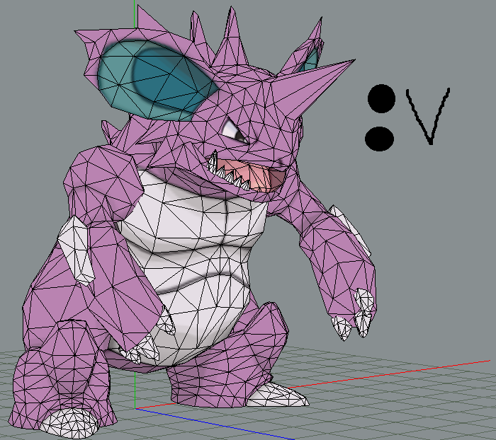 Nidoking papercraft :v by javierini