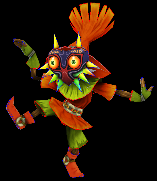 Majoras mask Skull Kid papercraft by javierini