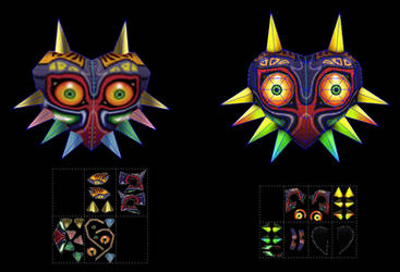 Majoras Mask papercraft by javierini