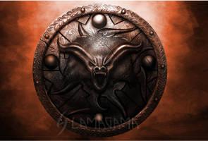 Shield of Embers by UysalTimsah